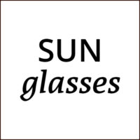 Sunglasses, polarized on non-polarized, to be used outdoor in every lighter whether